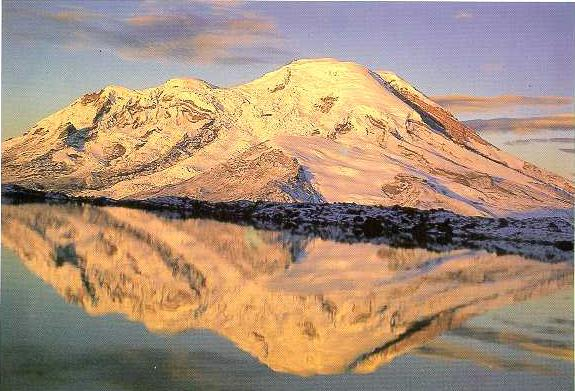 Chimborazo peak