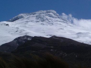 Cayambe peak