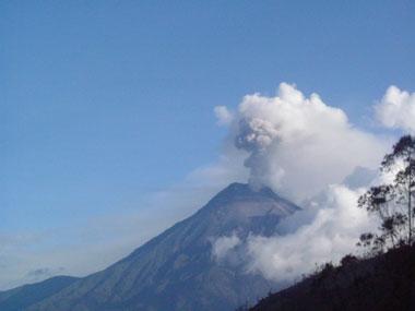 Tungurahua peak