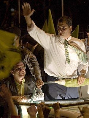 Rafael Correa Nuevo Presidente del Ecuador