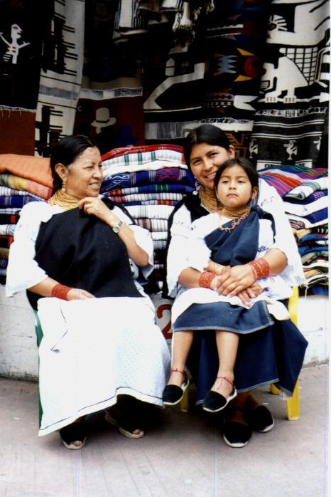 Otavalo's market