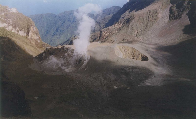 Guaguas crater