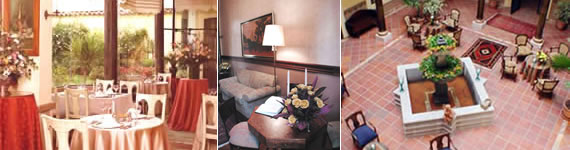 The Hotel Mansion Alcazar is located in the heart of the city of Cuenca, within walking distance from Banks, Art Shops, Galleries, Churches and the main Plaza. A boutique Hotel, where you will enjoy your stay in in Cuenca - Ecuador