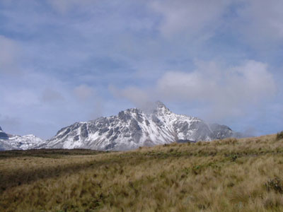 Illiniza Norte peak