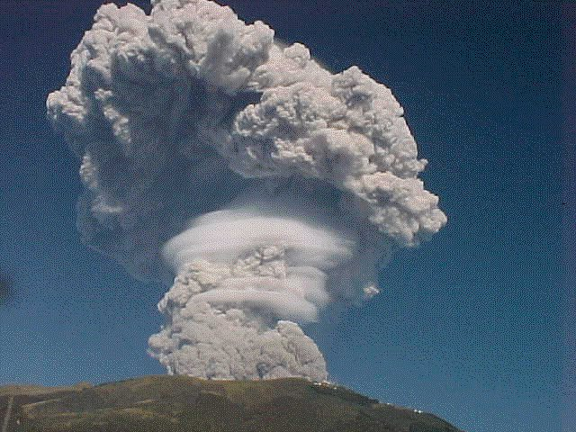 Pichincha's eruption