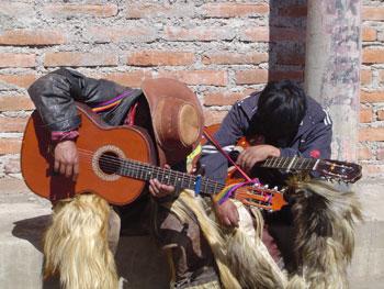 Singers sleeping