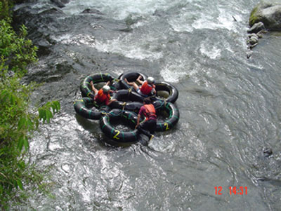 Gringo Trail, off the track: Tubing in Mindo
